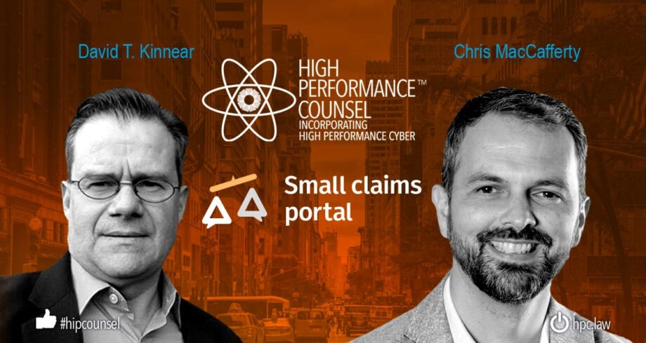 LEGAL INDUSTRY HEAVYWEIGHT JOINS SMALL CLAIMS PORTAL AS B2B, B2C GROWTH BECKONS